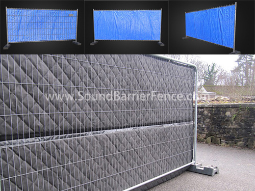 Home Sound Barrier Fence
